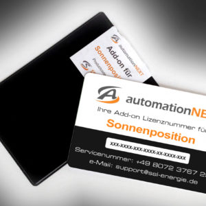 Add-on für Sonnenposition